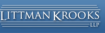 federal income tax | Littman Krooks, LLP